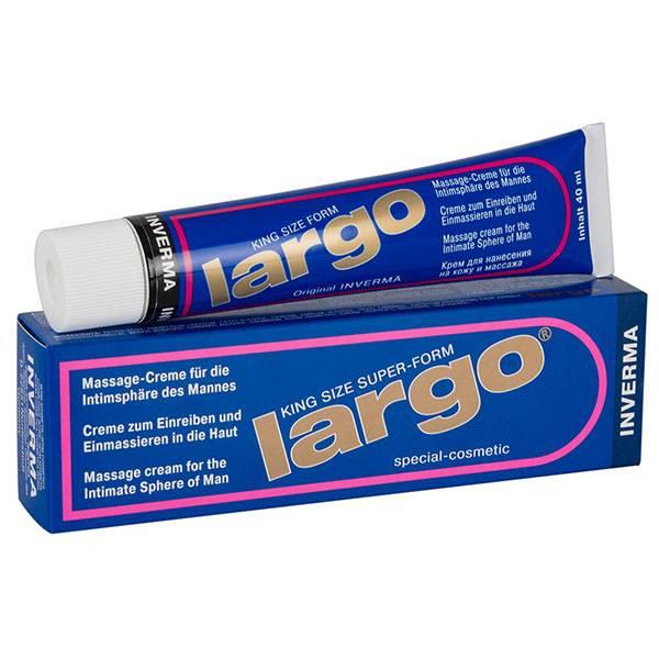 Крем за уголемяване на пениса Largo 40мл мнения и цена с намаление от sex shop