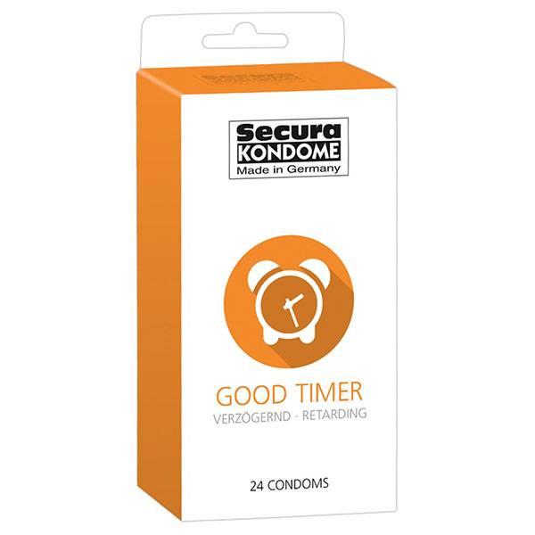 Презервативи Secura Good Timer 24бр мнения и цена с намаление от sex shop