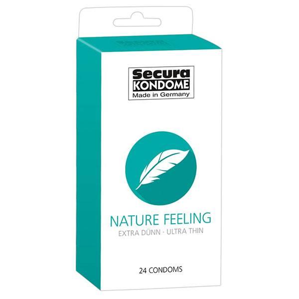 Презервативи Secura Nature Feeling 24бр мнения и цена с намаление от sex shop