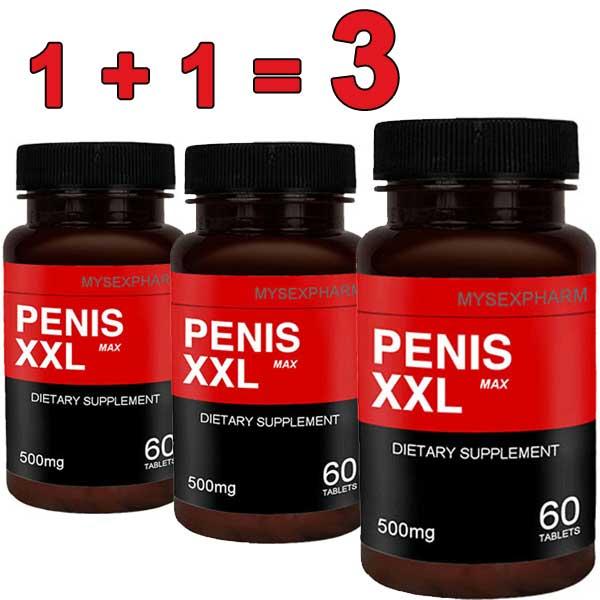 1+1=3 Хапчета за уголемяване на пениса Penis XXL Max мнения и цена с намаление от sex shop