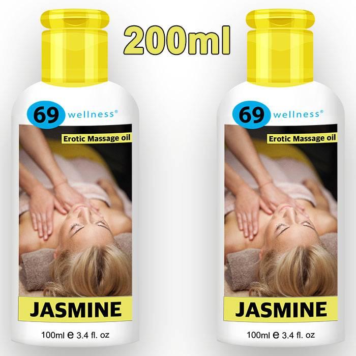 Еротично олио за масаж Jasmine 200мл мнения и цена с намаление от sex shop