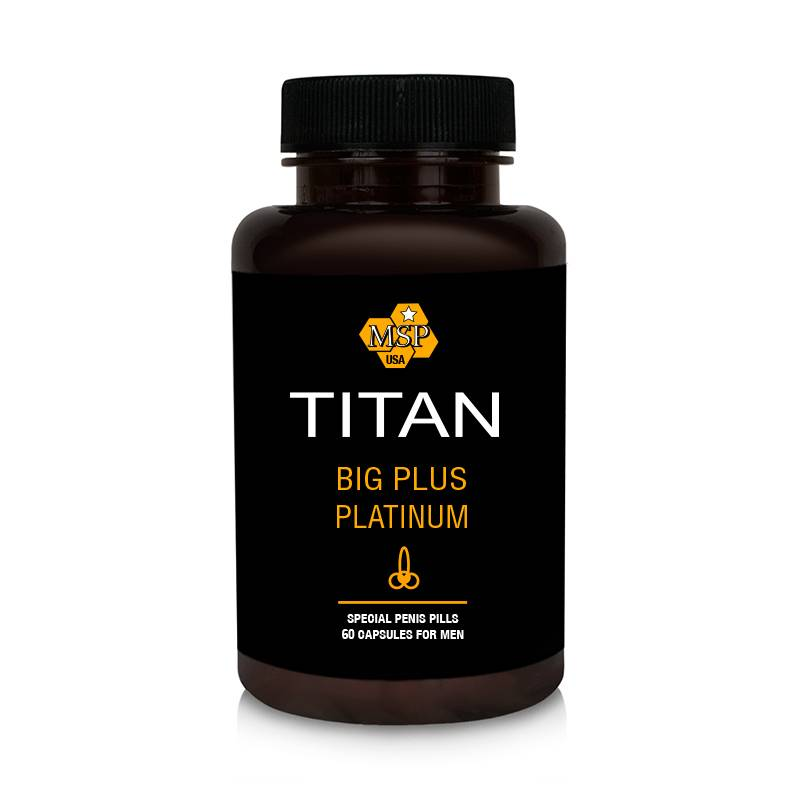 Titan Pills за Уголемяване на пениса и засилване на ерекцията 60 капсули мнения и цена с намаление от sex shop