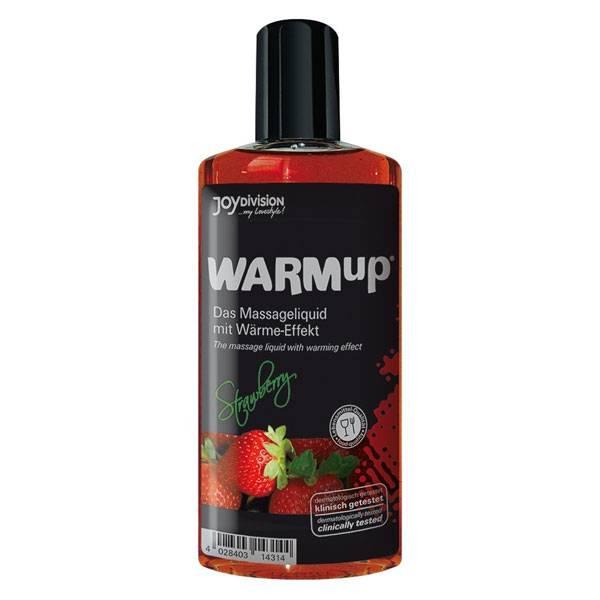 Масажно олио Warm-up Ягода мнения и цена с намаление от sex shop