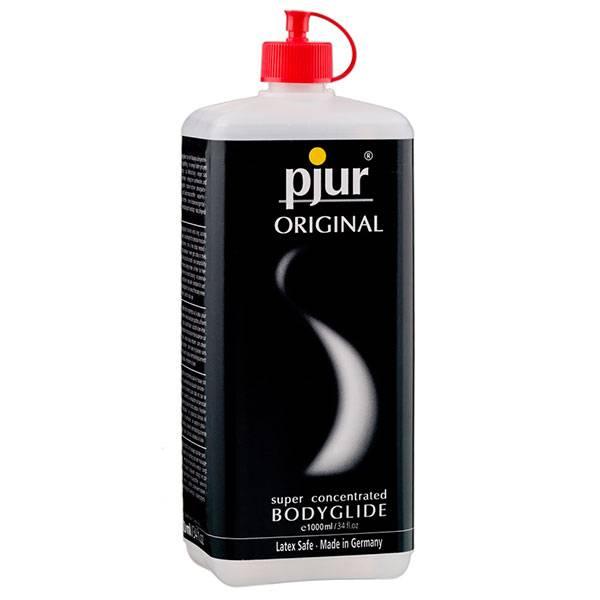 Силиконов лубрикант Pjur ORIGINAL 1 литър мнения и цена с намаление от sex shop