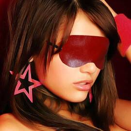 Червена кожена маска за очи мнения и цена с намаление от sex shop