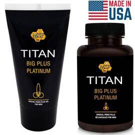 TITAN XXL ПРОМО: Titan Gel + Titan Pills капсули за Уголемяване на пениса мнения и цена с намаление от sex shop