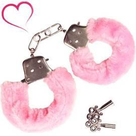 Белезници с розов пух Love cuffs мнения и цена с намаление от sex shop