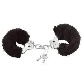 Белезници с черен пух Love cuffs мнения и цена с намаление от sex shop